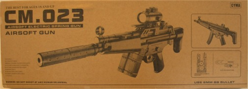CYMA CM.023 MP5A5 AEG softgun