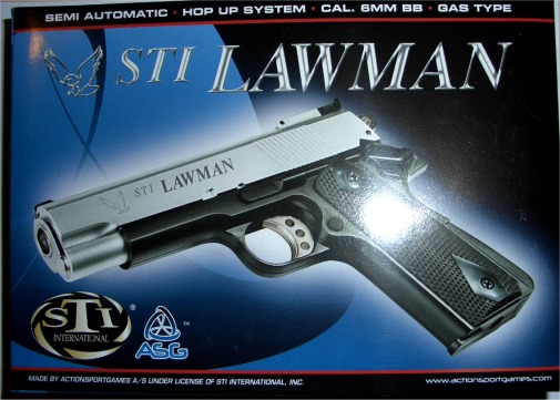STI LAWMAN GAS